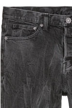 Relaxed Skinny Jeans - Black/Washed out - Men | H&M 5