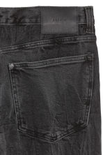 Relaxed Skinny Jeans - Black/Washed out - Men | H&M GB 4