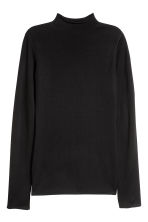 Merino wool jumper - Black - Ladies | H&M GB 2