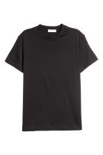 T-shirt in misto seta - Nero - DONNA | H&M IT 2