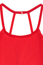 Non-wired halterneck bra - Red - Ladies | H&M CN 4