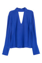 Crêpe blouse - Cornflower blue - Ladies | H&M IE 2