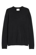V-neck cashmere jumper - Black - Men | H&M 3