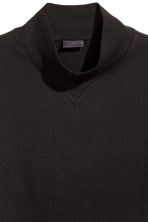 Turtleneck T-shirt - Black - Men | H&M CN 2