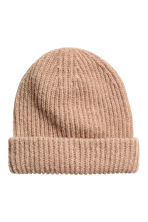 Hat in a mohair blend - Beige - Ladies | H&M 1