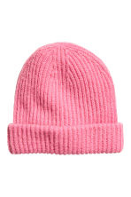 Hat in a mohair blend - Pink - Ladies | H&M CN 1