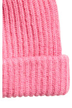 Hat in a mohair blend - Pink - Ladies | H&M CN 2