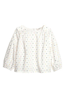 Pima cotton blouse