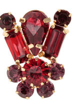 Sparkly earrings - Red - Ladies | H&M CN 2