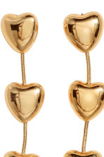 Long earrings - Gold-coloured - Ladies | H&M CN 2