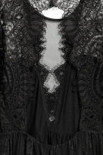 Lace dress - Black - Ladies | H&M 4