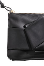 Leather pouch - Black - Ladies | H&M CN 2