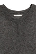 Fine-knit dress - Dark grey - Ladies | H&M 3