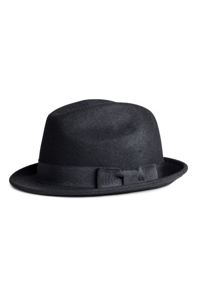 Wool hat - Black - Men | H&M CN