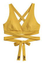 Bustier Top - Yellow - Ladies | H&M CA 2
