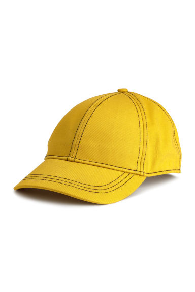 Twill cap - Yellow/Black - Ladies | H&M CN 1