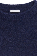 Mohair-blend jumper - Blue - Ladies | H&M CN 3