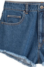 Jeansshort - Denimblauw - DAMES | H&M BE 3