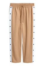 Sweatpants in a lyocell blend - Beige - Ladies | H&M IE 1