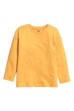 Jersey top - Mustard yellow -  | H&M 2