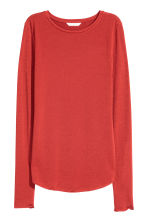 Tricot top - Roestrood - DAMES | H&M NL 2