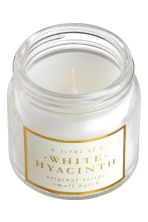 Bougie parfumée - Blanc/White Hyacinth - Home All | H&M CA 2