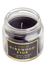 Bougie parfumée - Noir/Firewood Figs - HOME | H&M BE 2