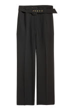 H&M+ Wide trousers - Black - Ladies | H&M 2