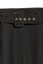 H&M+ Wide trousers - Black - Ladies | H&M 3