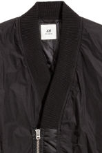 Shawl-collar bomber jacket - Black - Men | H&M 3
