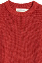 Ribbed jumper - Dark orange - Men | H&M IE 3