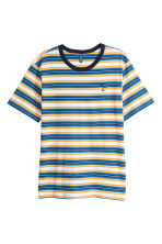 Striped T-shirt - Blue/striped - Men | H&M CA 2