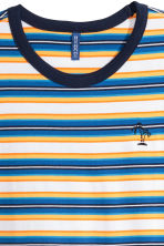 Striped T-shirt - Blue/striped - Men | H&M CA 3