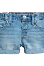 2-pack denim shorts - Light blue - Kids | H&M CA 3