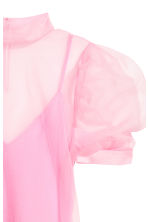 Sheer top - Light pink - Ladies | H&M IE 3