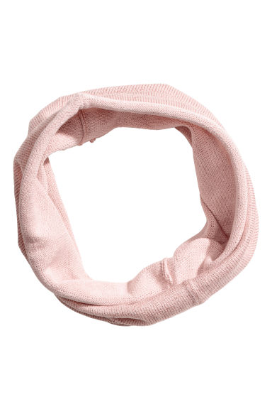 Glittery tube scarf - Powder pink - Kids | H&M 1