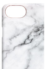 iPhone 6/7 case - Rose gold-coloured/Marbled - Ladies | H&M CN 2