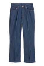 Kickflare High Ankle Jeans - Dark blue - Ladies | H&M 2