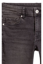Petite fit Skinny Jeans - Dark gray denim - Ladies | H&M 4