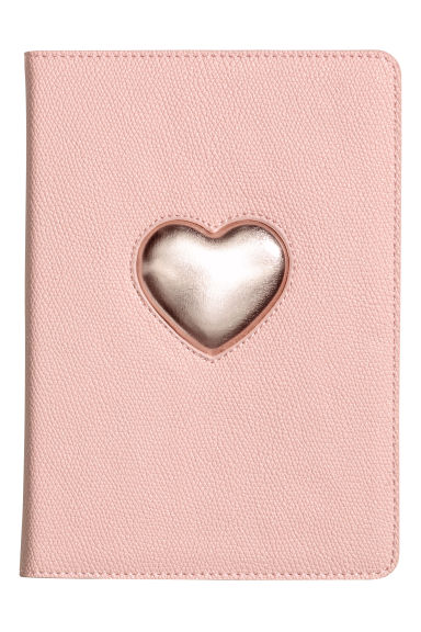 iPad Mini Case - Powder pink/heart - Ladies | H&M CA 1