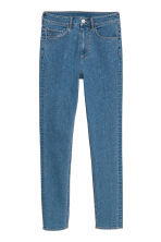 Slim High Ankle Jeans - Blue/Sparkly stones - Ladies | H&M CN 3