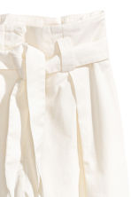 Wide-cut Pants - White - Ladies | H&M CA 3