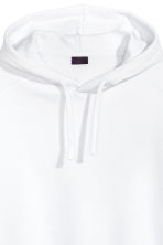 Short-sleeved hooded top - White - Men | H&M 3