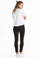 Petite fit Slim Ankle Jeans - Black - Ladies | H&M 4