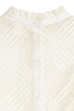 Lace blouse - White - Ladies | H&M 4