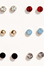 25 pairs stud earrings - Gold-coloured/Multicoloured - Ladies | H&M 2