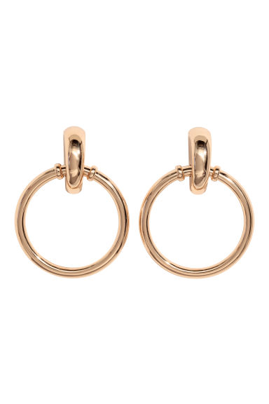 Large Earrings - Gold-colored - Ladies | H&M CA 1