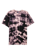 Batik-patterned T-shirt - Dark purple/Batik - Men | H&M 2