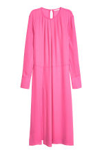 Wide dress - Pink - Ladies | H&M CN 2