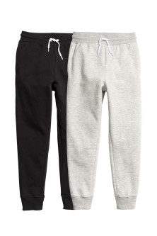 Lot de 2 pantalons de jogging